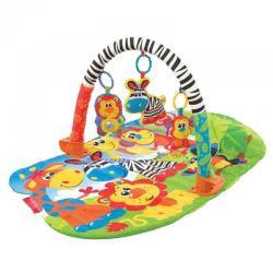 Gimnasio Para Bebe Super Safari 5 En 1 Playgro Estimulación