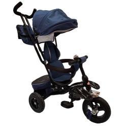 Triciclo Paseador De Lujo Bebe Llanta Inflable Todo Terreno