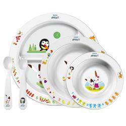 Avent Set De Platos Alimentacion Infantil Bebe 6m+