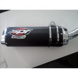 Si buscas Escape Spr Street Honda Cg Titan 150 Con Disco Esd Fas Motos puedes comprarlo con FASMOTOS00 está en venta al mejor precio