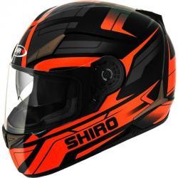 Si buscas Casco Integral Doble Visor Shiro Sh 715 Austin Orange En Fas puedes comprarlo ya, está en venta en Argentina