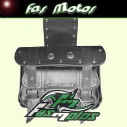 Si buscas Alforjas Cuero Doble Bolsillo Grandes Chooperas - Fas Motos puedes comprarlo con FASMOTOS00 está en venta al mejor precio