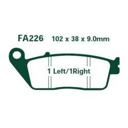 Si buscas Pastillas De Freno Ebc Fa 226 Hh Sintetizadas En Fas Motos puedes comprarlo con FASMOTOS00 está en venta al mejor precio