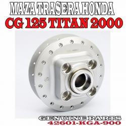 Si buscas Maza Trasera Honda Cg 125 Titan 2000 Fan Original Fas Motos puedes comprarlo con FASMOTOS00 está en venta al mejor precio
