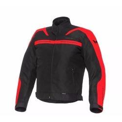 Si buscas Campera Motorman Rocky Negra Roja Impermeable Termico En Fas puedes comprarlo con FASMOTOS00 está en venta al mejor precio