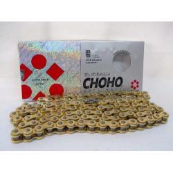 Cadena Transmision Choho 520 H X 118 Dorada Reforz Fas Motos