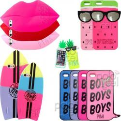 Funda Victoria Secret Iphone 6 6s Pink Ananá Banana Sandía