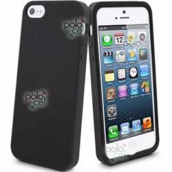 Combo Funda Iphone Se 5 5s Silicona Tpu + Film Protector Lcd