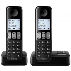 Si buscas Philips D2352 Telefono Inalambrico Duo Contestador Caller Id puedes comprarlo con PHOTOSTORE está en venta al mejor precio
