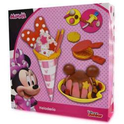 Disney Minnie Set De Masa Heladeria De Crema C/ Waflera