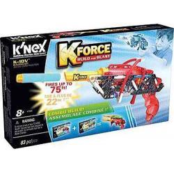 Knex Set Construye Lanza Dardos De Espuma Minicross/ K-10v