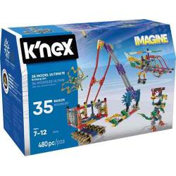 Knex Imagine Set Construccion Juego De 35 Modelos Posibles