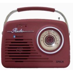 Si buscas Spica Sp110 Radio Vintage Am/fm Usb Bluetooth Slot Sd Mp3 puedes comprarlo con PHOTOSTORE está en venta al mejor precio