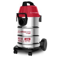 Ultracomb Ast-42 Aspiradora 1600w 42l Apto Seco Liquido Inox