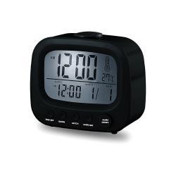 Reloj Despertador Coby Cbc-52 Negro Lcd Calendario