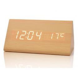 Daza 1301 Reloj Despertador Con Temperatura Ambiental