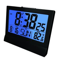 Reloj Despertador Coby Cbc-51 Led 4,6 Núm. Grandes Temperat