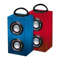 Parlante Noga Bluetooth Ngs-b1105 Bateria Recargable Luces!!