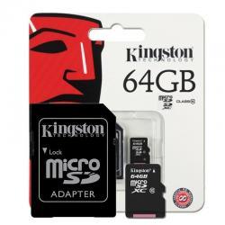 Si buscas Memoria Microsd Sd 64gb Kingston Clase 10 Fullhd Cam Envío puedes comprarlo con MEXXCOMPUTACION está en venta al mejor precio