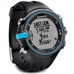 Reloj Gps Garmin Swim Negro Con Celeste Sumergible Envio 2