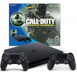 Ps4 Playstation 4 Slim 500gb 2 Joysticks Call Of Duty Mexx 2