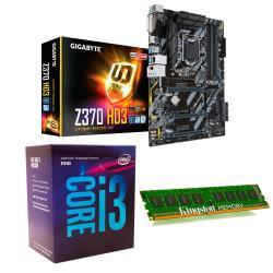 Si buscas C65 Combo Actualización Pc Intel I3 8100 + Z370 + 8gb Mexx 3 puedes comprarlo con MEXXCOMPUTACION está en venta al mejor precio