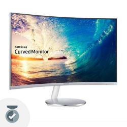 Monitor Curvo Samsung Led 24 Pulgadas F390 Full Hd Vga Hdmi