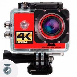 Camara Deportiva 4k Go Action Pro 16mpx Hdmi + 32gb Control