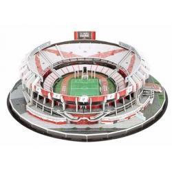 Maqueta Estadio 3d Para Armar River Racing Barcelona Real M