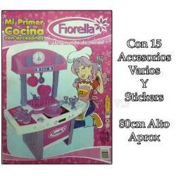 Si buscas Cocina Juguete Infantil Mi Primer Cocina Fiorella Accesorios puedes comprarlo con OPORTUNIDADESVIP está en venta al mejor precio