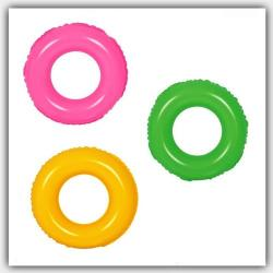 Salvavidas Circular Inflable Flotante 60 Cm. Colores Niño
