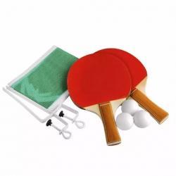 Ping Pong 2 Paletas + 3 Pelotas + Red + 2 Soportes