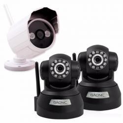 Kit Camaras De Seguridad Ip P2p Wifi Vision Nocturna 12 Pago
