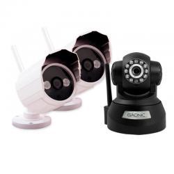 Kit Camara Seguridad Ip P2p Wifi Infrarroja Hd 12 Coutas