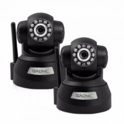 Kit X2 Camaras Seguridad Ip P2p Wifi Vision Nocturna Hd Movi