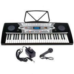 Teclado Musical Electronico Musical Display Lcd 54 Teclas