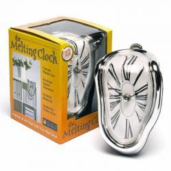 ¡ Reloj Surrealismo Derretido Clock Dalí Artístico Nuevo !!