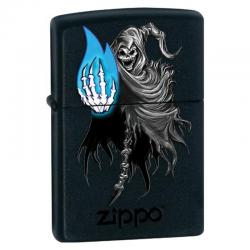 ¡ Encendedor Zippo Stamped Bs Dead Calavera Esqueleto !!