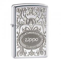 ¡ Encendedor Zippo Texture American Classic Silver Plata !!