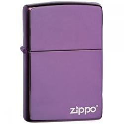 ¡ Encendedor Zippo Colors Abbyss Pocket Lighter Morado !!
