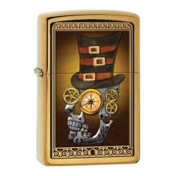 ¡ Encendedor Zippo Stamped Industrial Machinery Brushed !!