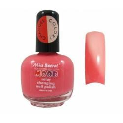 ¡ Esmalte Cambia De Color Rosado A Crema Mia Secret Mood !!