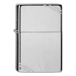 ¡ Encendedor Zippo Classic Vintage Street Chrome Silver !!