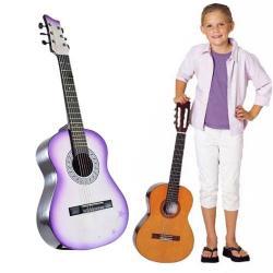 ¡ Guitarra Acustica 1/4 Clasica Redonda Niños Acabados !!