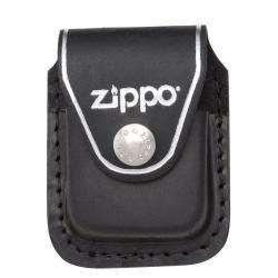 ¡ Estuche De Cuero Clip Zippo Pouches Lpcb - Negro !!