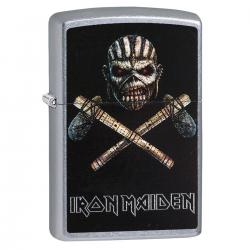 ¡ Zippo Stamp Zippo Iron Maiden 29434 - Plateado !!