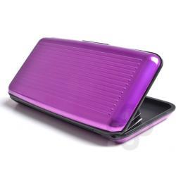 Billetera Aluminio Aluma Wallet Xl Espejo Resiste Tarjetero