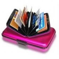Oferta X 2 Billetera Aluminio Aluma Wallet Xl Espejo Resiste