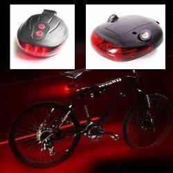 9b7d8a35f95 Si buscas Luz Stop Trasera 5 Led Doble Rayo Láser Para Bicicletas puedes  comprarlo con FEBOUY