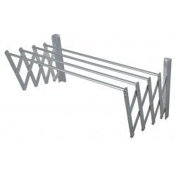 Tendedero De Ropa Retractil En Aluminio 100x65cm